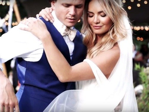 Svadobné video prominentného páru,