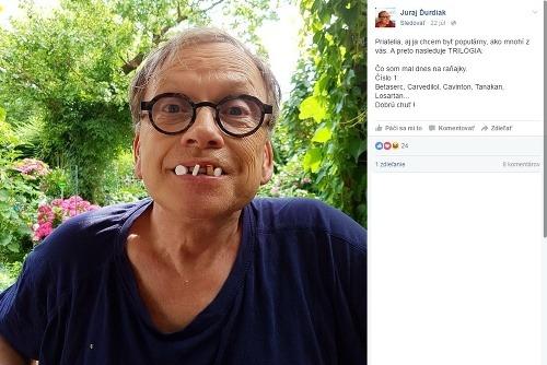 Demencia?! Slovenský herec desí