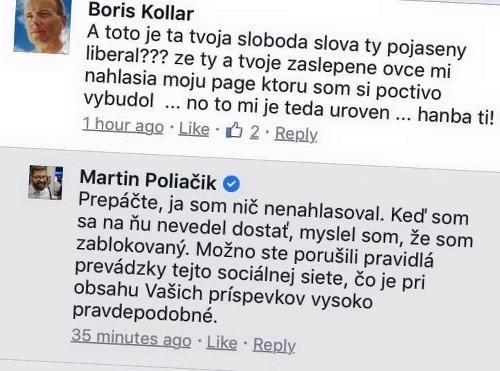 Status Martina Poliačika