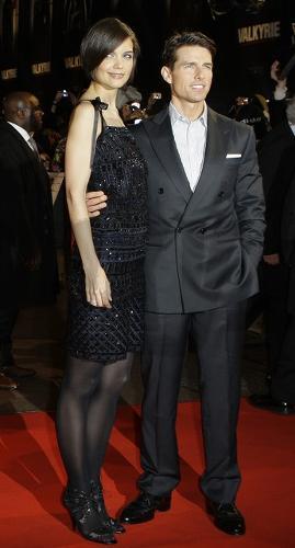 Tom Cruise s manželkou