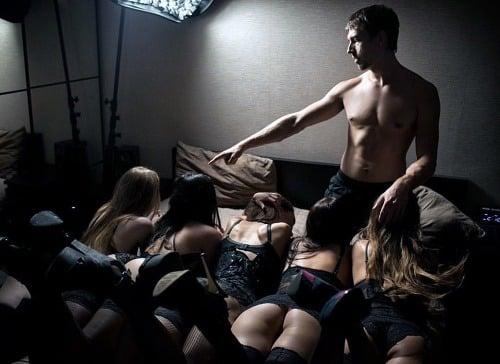 Porno hviezda kundičky