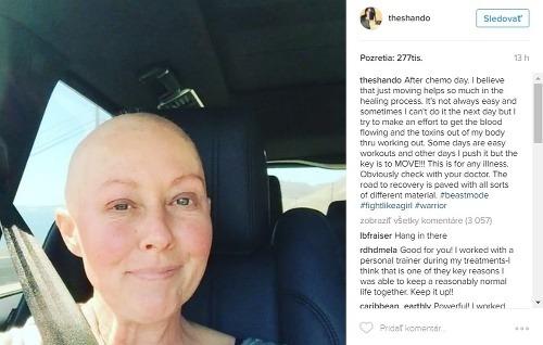 Shannen Doherty mala rakovinu