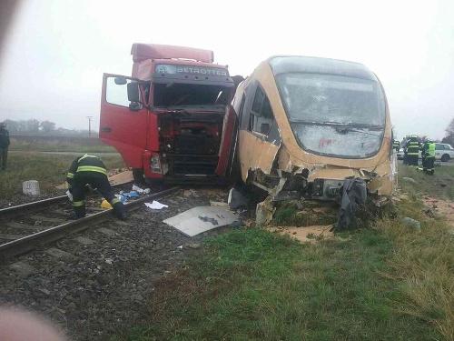 PRÁVE TERAZ Vlakové nešťastie