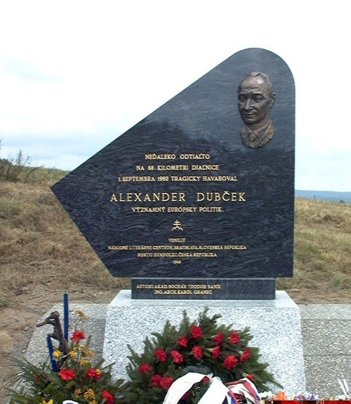 Pamätník Alexandra Dubčeka v
