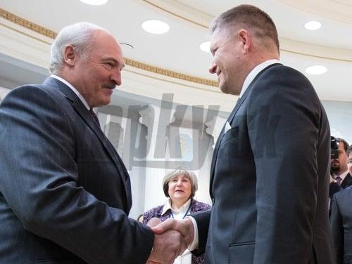 Robert Fico s Lukašenkom