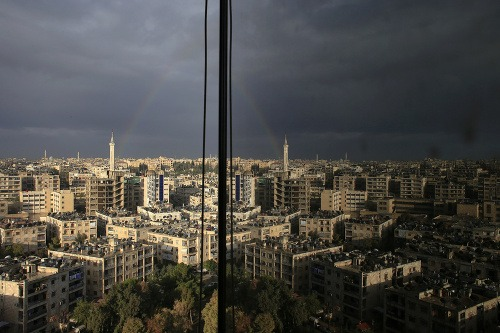 Dúha v Aleppe