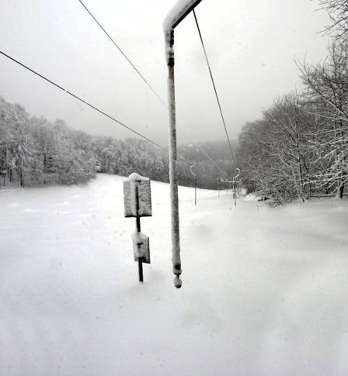 Bohatá nádielka snehu na