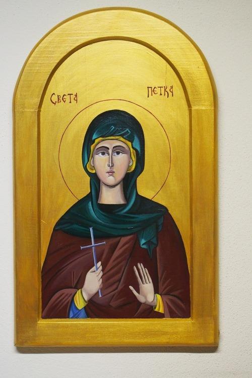 Ikona svätej Petky