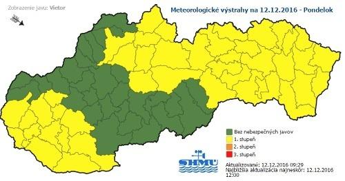 Meteorológovia varujú pred závejmi