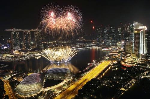 Čo robiť počas roka v Singapure