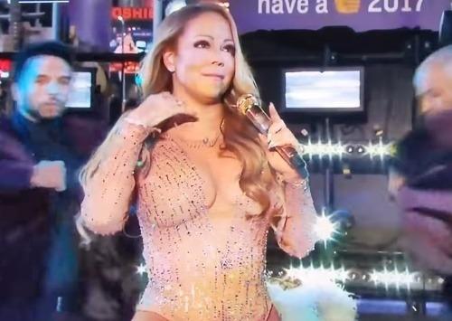Mariah Carey pokazila novoročné