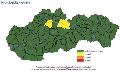 Slovenskí meteorológovia varujú: V