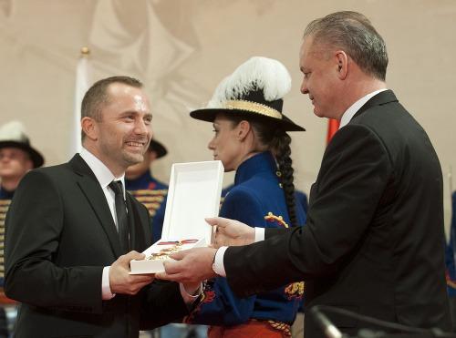 Michal Kaščák a Andrej