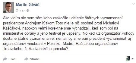 Status Martina Glváča