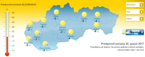 Mrazivé peklo na Slovensku