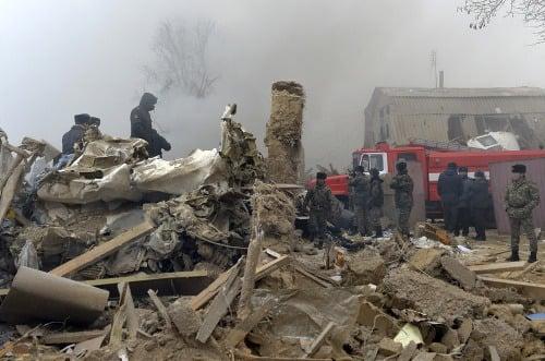 V Kirgizsku havarovalo turecké