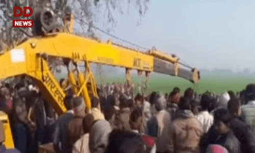 Zrážka autobusu v Indii