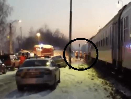 Tragická zrážka vlaku s