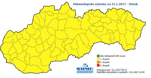 Počasie opäť potrápi Slovensko: