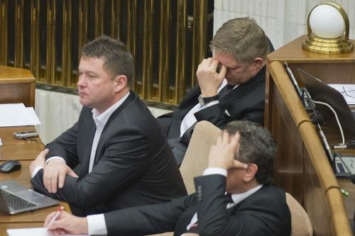 Robert Fico počas odvolávania