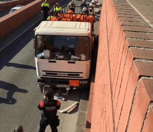 Šofér kamión s nebezpečnými