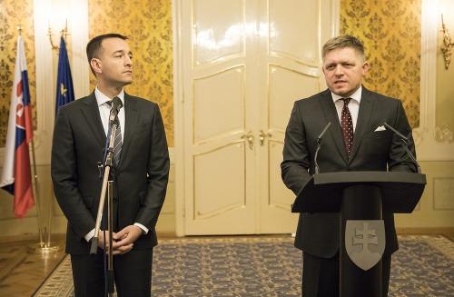 Robert Fico a Tomáš