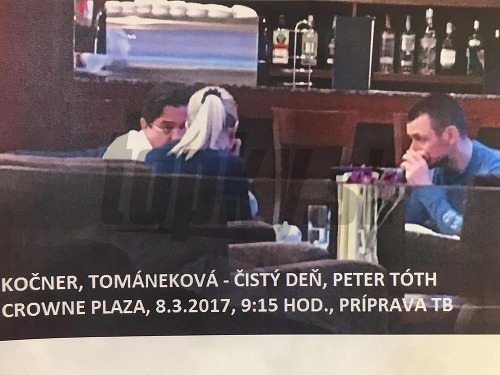Kočner, Tománková a Tóth