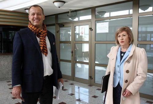 Boris Kollár a právnička
