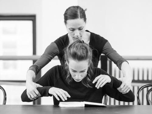 Sólistka baletu Eva Sklyartová