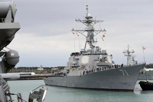 Americká vojnová loď USS