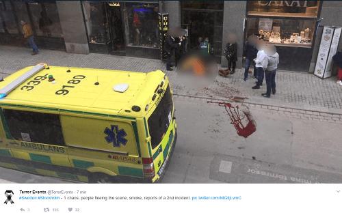 Švédsko bolo napadnuté teroristami!