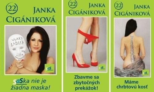 Poslankyňa Cigániková v týchto