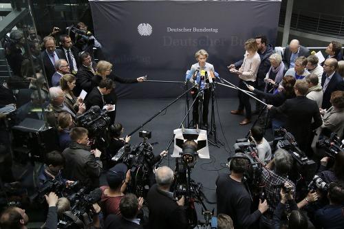 Ministerka obrany Ursula von