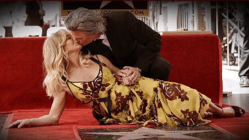 Kurt Russell a Goldie