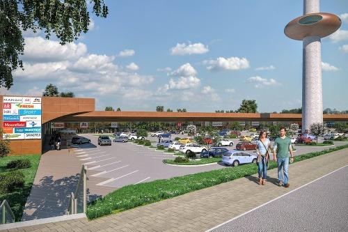 dac01059c4 FOTO Takto bude vyzerať najväčšie nákupné centrum v Prešove ...
