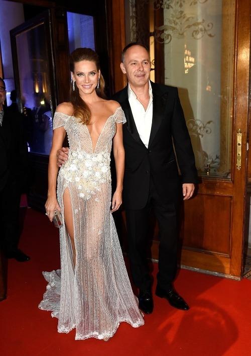 Andrea Verešová s manželom