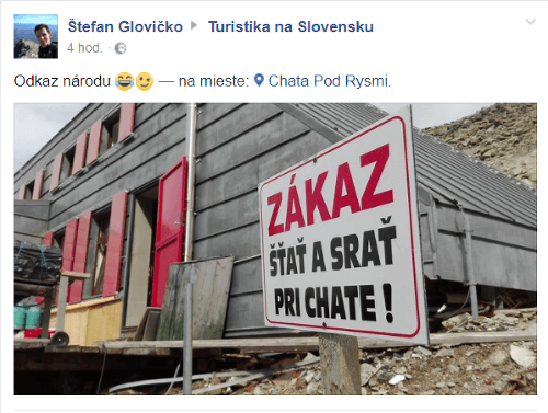 Chatárom z Vysokých Tatier