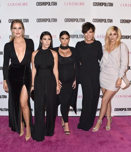 Kris Jenner so svojimi