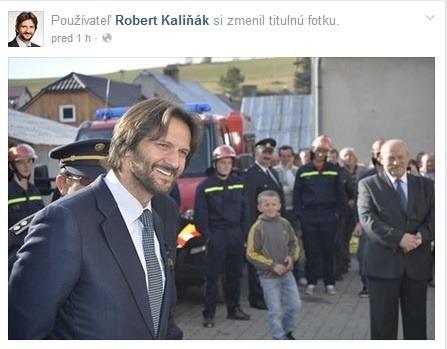 Zmenená profilová fotka Roberta