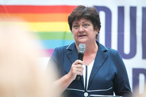 Ombudsmanka Dúhový Pride podporí
