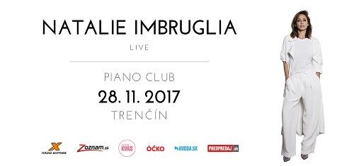Speváčka Natalie Imbruglia príde