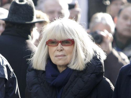 Mireille Darc a Alain