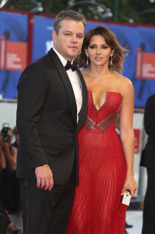 Matt Damon a Luciana