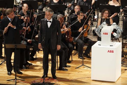 VIDEO Koncert tenoristu Bocelliho
