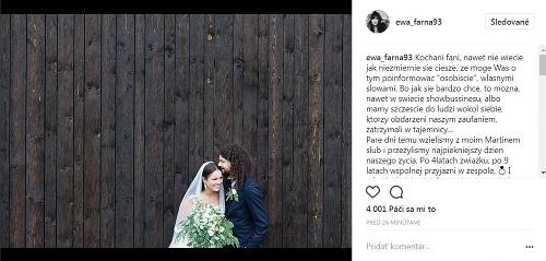 Ewa Farna a Matej