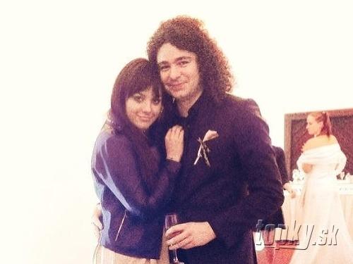 Ewa Farna s manželom.