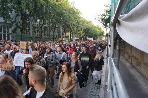 Protikorupčný pochod študentov