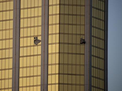 Dve okná na hoteli