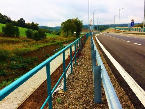 Križovatka Prešov, západ