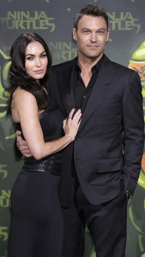 Megan Fox a Brian